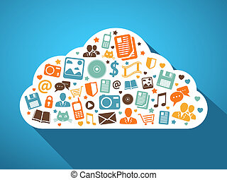 Multimedia and mobile apps in the cloud - Multimedia social...