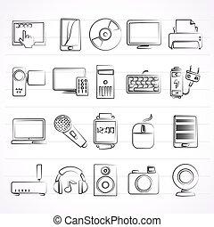multimedia, artikelen & hulpmiddelen, iconen