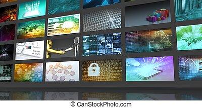 multimedia, digital