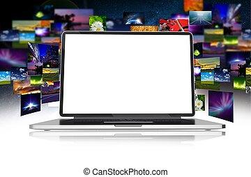 multimedia, geschaeftswelt
