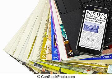 Multimedia information types - Multiple mediums of media...