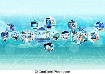 multimedia, internet