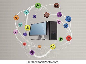 multimedia, pc