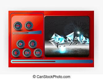 Multimedia Player Controls