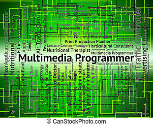 Multimedia Programmer Represents Occupations Programmers And Hiring