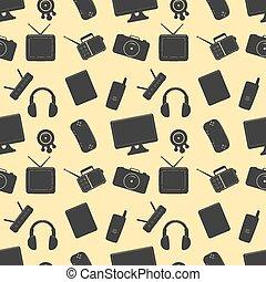 Multimedia Seamless Pattern