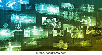 Multimedia Technology For Internet Sharing as Concept