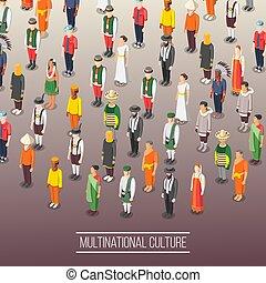 multinacional, mundo, plano de fondo, cultura