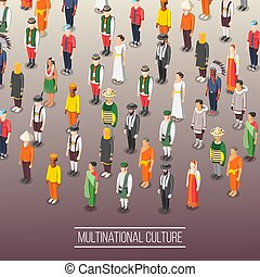 multinational, mondiale, fond, culture