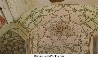 Multiple Archways and Dome Ceiling - Handheld, twisting,...