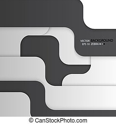 Multiple Background of different stripes of black and white...