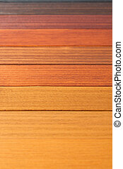 Multiple color wood texture