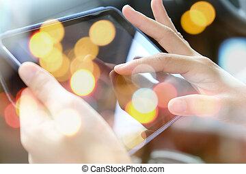 Multiple exposure of tablet