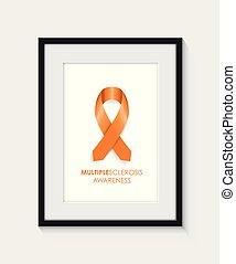 multiple sclerosis awareness frame