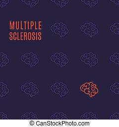 Multiple sclerosis pattern poster - Multiple sclerosis...