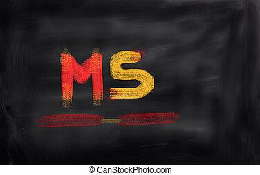 multiple sklerose, begriff