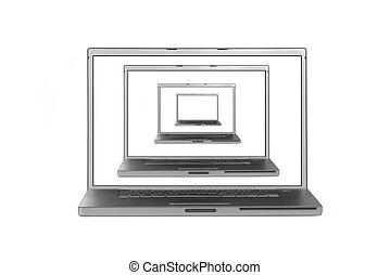 multiplicado, computadoras de computadora portátil