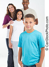 multiracial, familie