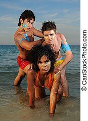 multiracial grupa