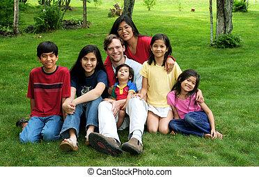 multiracial, rodzina