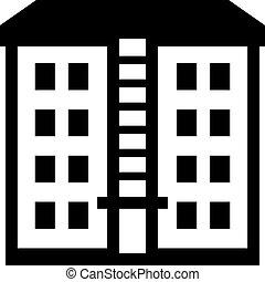 Multistorey building apartment house