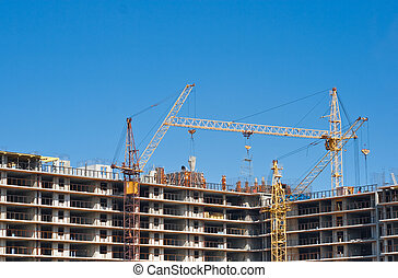 multistorey building construction