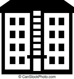 multistorey-gebäude, mietshaus