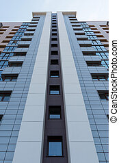 multistorey highrise apartment building