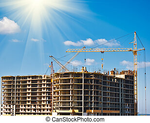 multistory building construction