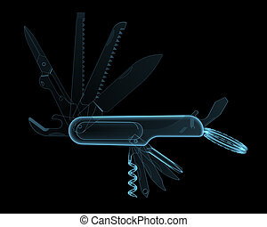 Multitool pocket knife