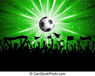 multitud, fútbol