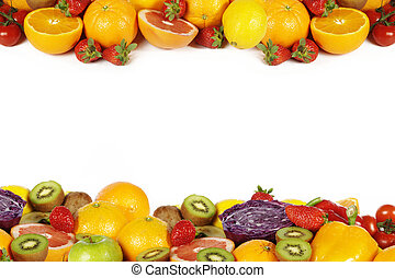 multivitamin, fruit, en, groentes