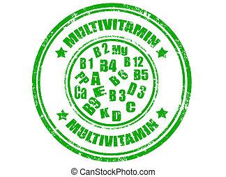 Multivitamin stamp