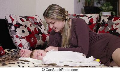 Mum with the child
