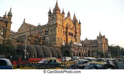 mumbai, indien, straße