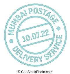 Mumbai postage stamp