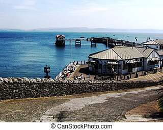 Mumbles Pier In The Summer