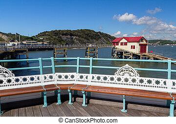 Mumbles Pier Wales - The 1898 Mumbles Pier Gower Wales UK ...