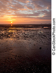 Mumbles sunrise vertical
