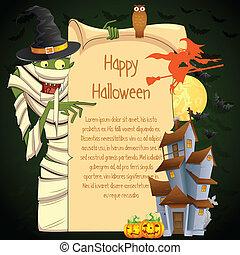 mumie, halloween