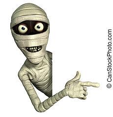 mummie, halloween