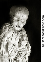 Mummy and Doll - Photo of a mummy and her doll, taken at the...