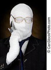 mummy-businessman