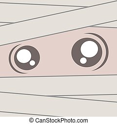 mummy face design