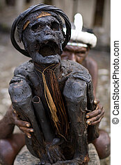 Mummy in Papua  - Papua mummy