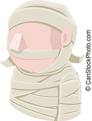 Mummy Man Avatar People Icon