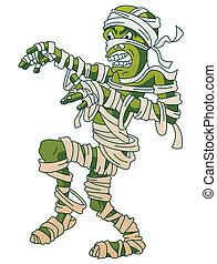 Mummy Screamy Halloween