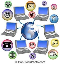 mundial, establecimiento de una red