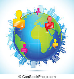 mundialmente, networking, human