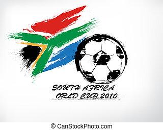 mundo, áfrica, sul, copo